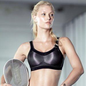 ANITA | Momentum Max Support Sports Bra Mesh Black
